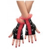 Rouged Glovettes Red And Black Child